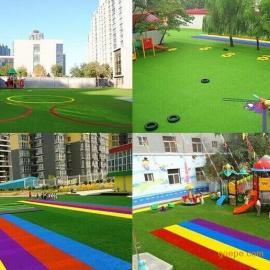 青岛幼儿园人造草皮铺装、报价