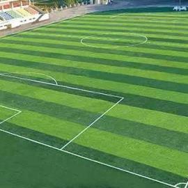 人工草坪足球场铺设