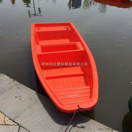南通3米可装马达塑料小船抗氧化双层养殖船捕鱼船
