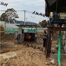 全自动建筑打桩泥水泥浆压榨机
