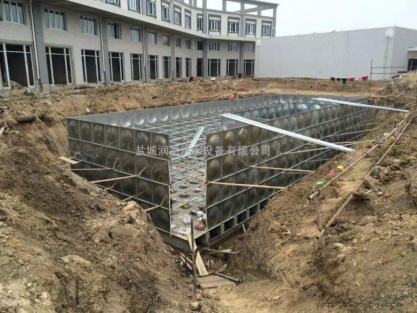 大型BDF地埋箱泵一体化水箱给水设备 润平专业制造