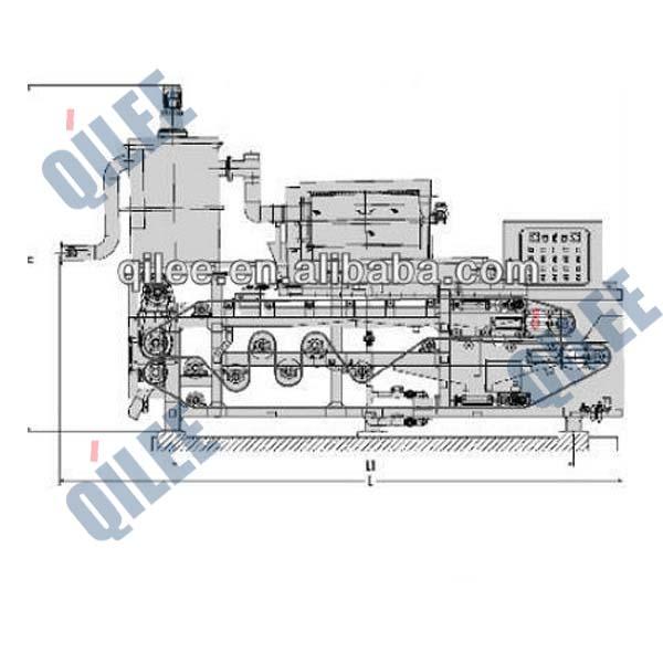 QTA-1250印染纺织污水污泥浓缩脱水机