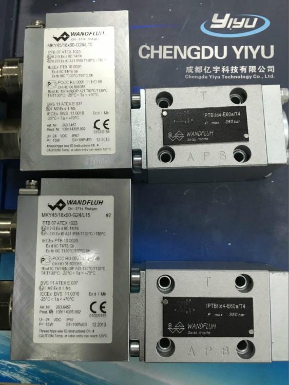 天津Wandfluh电磁阀IPTBIId4-e60a/t4