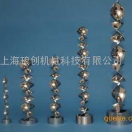 SK型静态混合器 管道混合器 不锈钢混合器 在线混合器