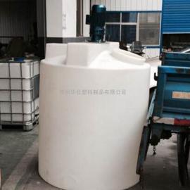 砀山2吨带搅拌机平底加药箱2000L水处理搅拌罐计量罐