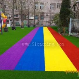 幼儿园户外人造草坪
