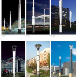 热销3米4米庭院园林广场景观灯柱户外广场方形景观灯