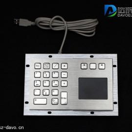 金属键盘 工业键盘 不锈钢数字键盘 查询机键盘