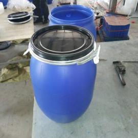 一�Z供��30升抱箍桶30升�G色�h保食品塑料桶30升化工抱箍桶