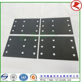 钢板镀锌中铱钽涂层钛阳极恶化的原因