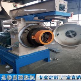 颗粒机厂家直供 锯末稻壳制粒机及生产线 木屑颗粒制粒机