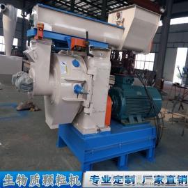青岛知名颗粒机厂家 环模时产1吨颗粒设备供应 锯末颗粒机