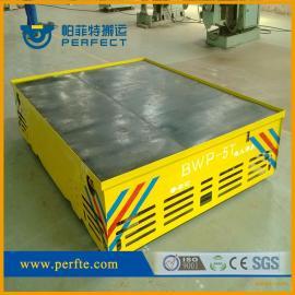 厂房与户外转运工件机械设备专用转弯无轨平车