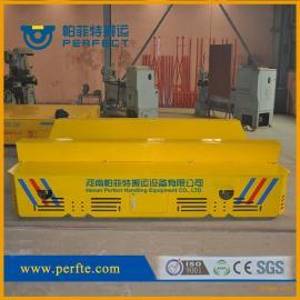 河南100吨蓄电池 轨道供电摆渡轨道车大吨位搬运车汽车制造