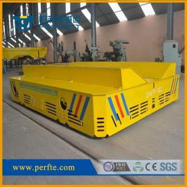 电动轨道搬运平板车20吨物料转运地轨电动车平车可定制
