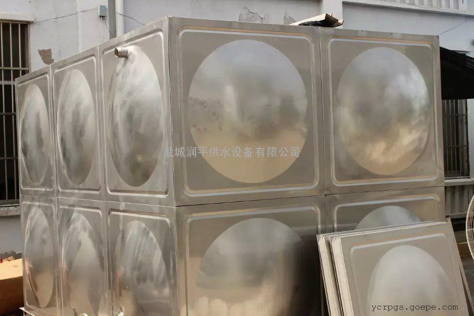 304不锈钢 焊接式生活水箱 润平厂家直销 诚信经营