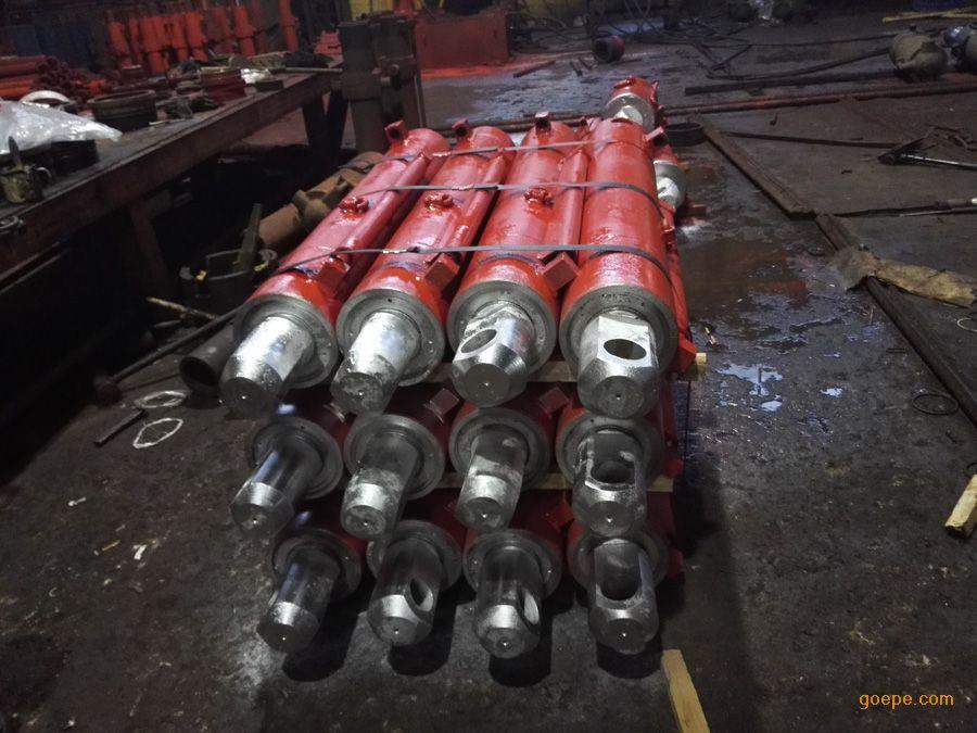 液压支架推移千斤顶 双伸缩立柱哪里价格低图片
