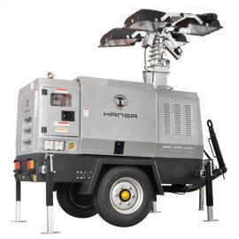 汉萨10kw全方位移动照明灯塔HS-12.5/T