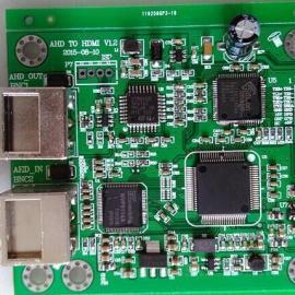 AHD转HDMI AHD转AV AHD转VGA转换器方案