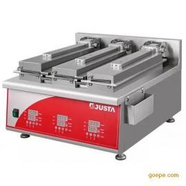 佳斯特DM-T-E3煎饺机 商用三头煎饺子机