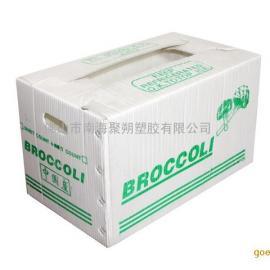 佛山钙塑箱 中空板箱 塑料周转箱