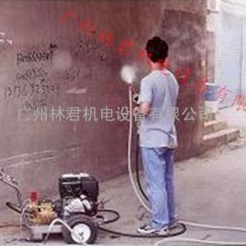 环卫清洁地面街道垃圾站使用汽油清洗机