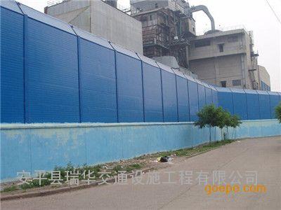 工厂声屏障-隔音墙-冷却塔隔声屏障-高强降噪-环保