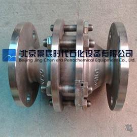 GZW-1防爆管道阻火器 不锈钢/铸钢/WCB材质北京现货
