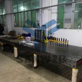 舞台设备/舞台桁架/演艺设备焊接柔性工装夹具,焊接工作站