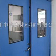 车间冷轧钢板净化门 实验室专用钢质防火门 净化门直销单位