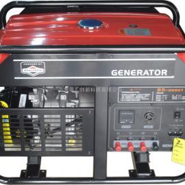 美国百力通汽油发电机 6kw BS9000TE 三相电启动
