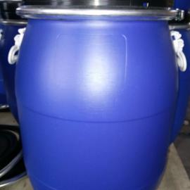 一�Z供��60升抱箍桶60升化工塑料桶60千克食品塑料桶60公斤�{色塑