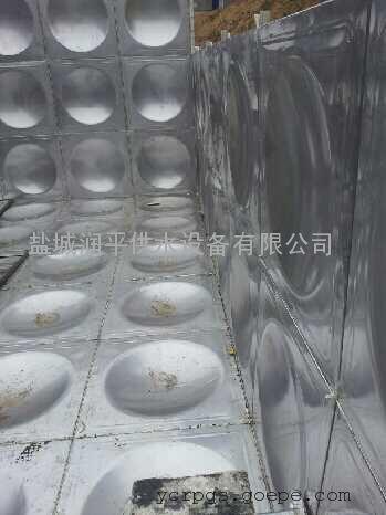 济宁 地埋式水箱 干式电机深井泵 润平资质齐全包验收