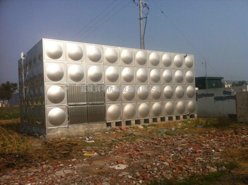 地埋水箱价格 和优势 配置深井长轴泵