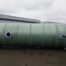 格兰富玻璃钢一体化预制泵站
