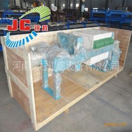 河南锦程压滤机520型聚丙烯千斤顶压紧板框式压滤机/6Q