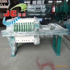 河南锦程压滤机390型压滤机聚丙烯千斤顶压紧板框式/1