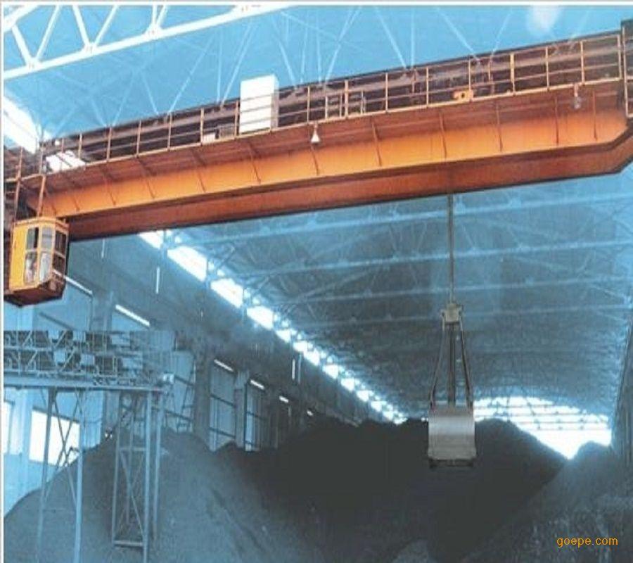 qz型10t桥式卡通起重机v卡通桥式挂饰起重机桥式纸巾车用双梁抓斗抽图片