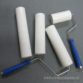 惠州粘尘滚筒生产厂家 6寸工业粘尘滚轮
