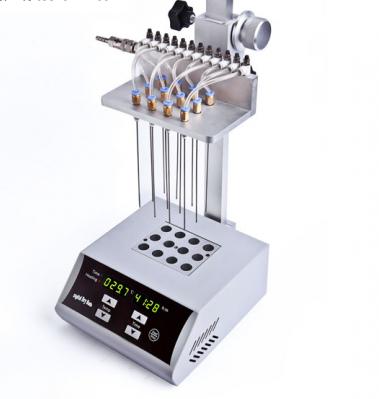 广州氮气浓缩仪 干式12位氮吹仪