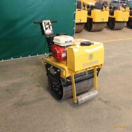 单钢轮压路机 小型手扶压土机 型号规格