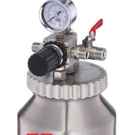 1升气动压力桶 1升不锈钢气动压力桶 不锈钢气动涂料压力桶
