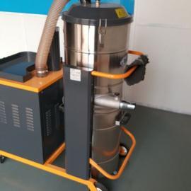 设备配套用双扇叶大风量工业吸尘器,大功率粉尘吸尘器