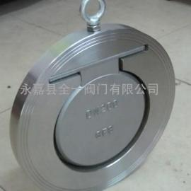 H74W-16P、H74W-25P不锈钢对夹止回阀