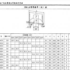 立管焊接吊支座224