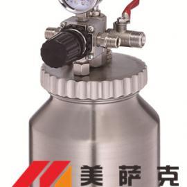 2升水性漆压力桶 2升水性油漆不锈钢压力桶 2L压力罐