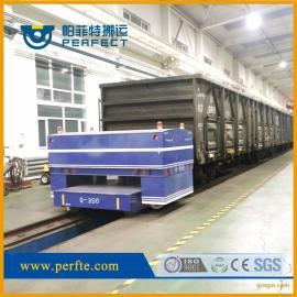 旋转设备灯光舞台设备10吨电动转弯轨道平板运输车批发代理