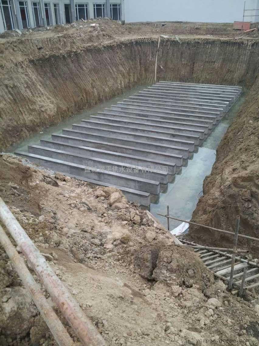 湖北 BDF地埋式箱泵一体化 装配式水箱 润平资质齐全