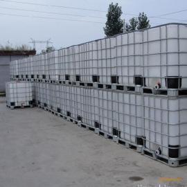 山东现货直销食品级1吨水桶1立方化工塑料桶1000升酒精塑料罐耐磨
