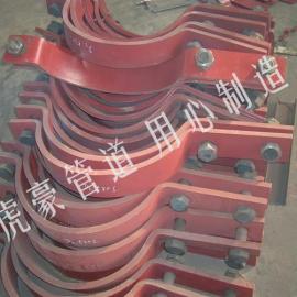 SD1水平管道单拉杆长管夹组件